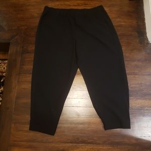 Rachel Roy Black Dress Pants, elastic waist band